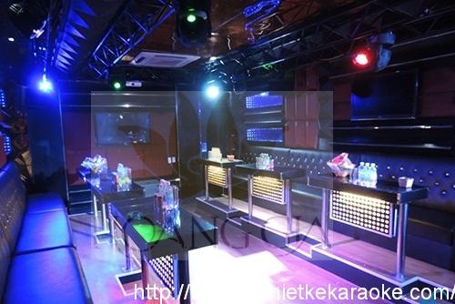 Thiết kế thi công phòng karaoke quận 10 TPHCM