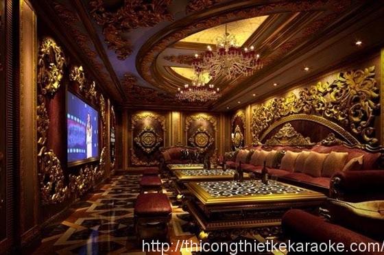 Thiết kế thi công phòng karaoke quận 2 TPHCM