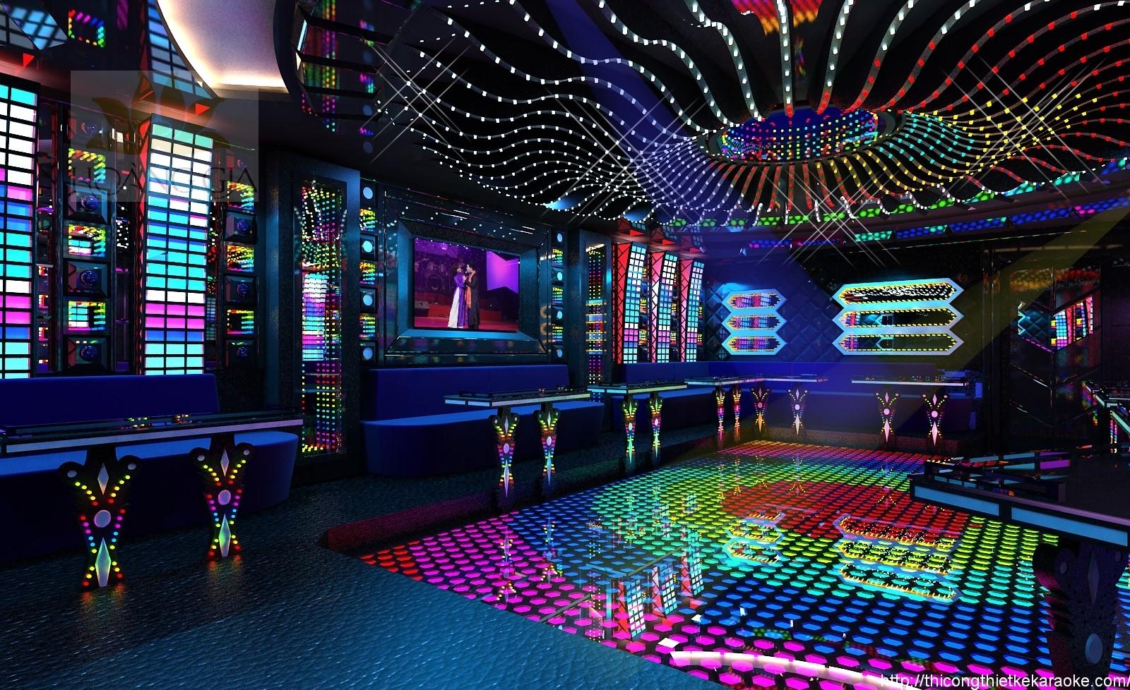 Thiết kế thi công phòng karaoke quận 7 TPHCM