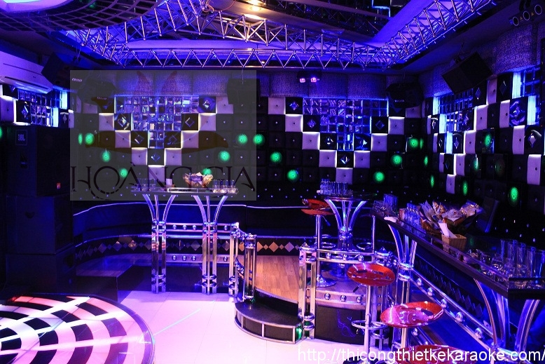 Thiết kế thi công phòng karaoke quận 8 TPHCM