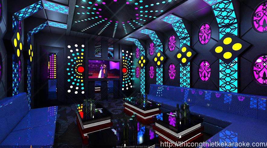 Thiết kế thi công phòng karaoke quận 3 TPHCM