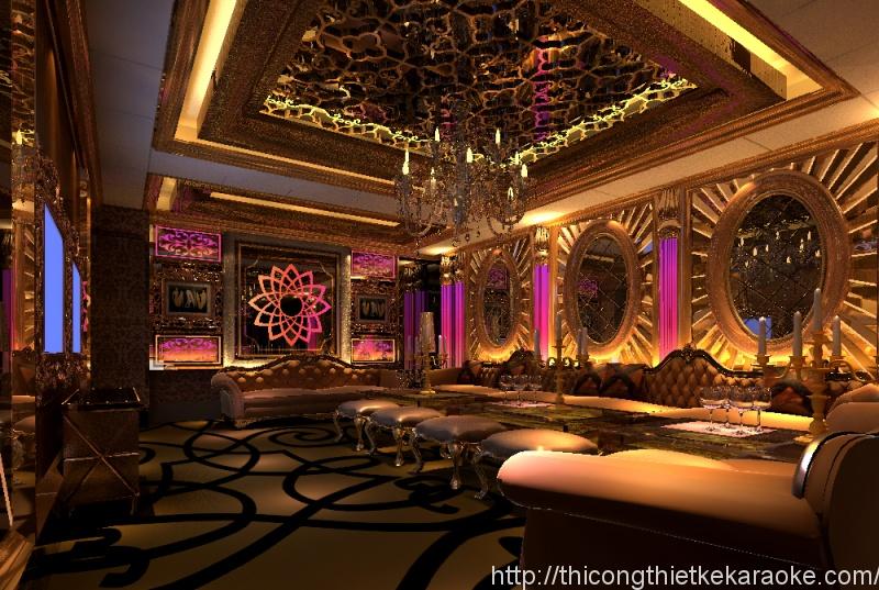Thiết kế thi công phòng karaoke quận 4 TPHCM
