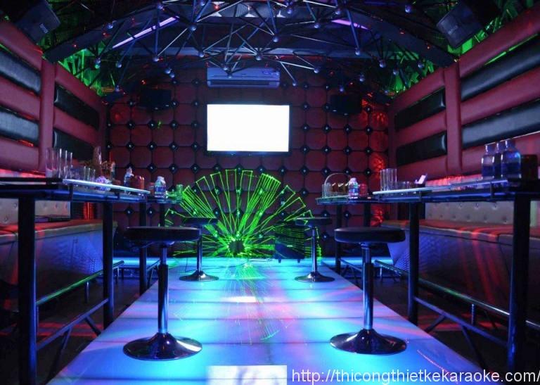 Thiết kế thi công phòng karaoke quận 5 TPHCM