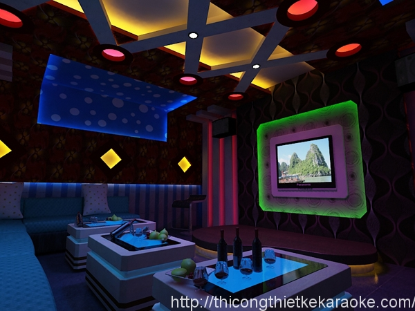 Thiết kế thi công phòng karaoke chuyên nghiệp tại TPHCM