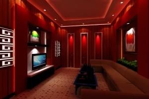 Mẫu thiết kế phòng karaoke gia đình