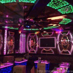 bục nhảy karaoke